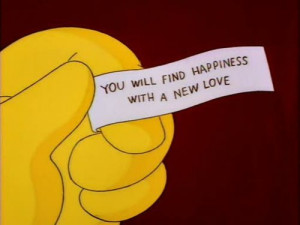 ... homer simpson, love, mindy simmons, simpsons, text, the simpsons, true