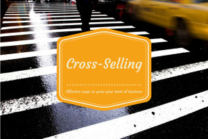 ... your book of business try cross selling by tim taylor in sales tips