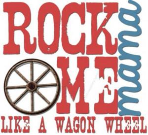 Wagon Wheel♥