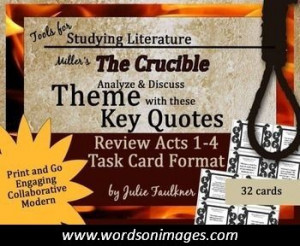 Crucible quotes