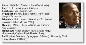 Too Many Shabazzes… Malik Shabazz of Detroit's New Black Panthers ...