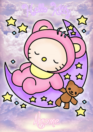 Sweet Dreams I Love You Hello kitty sweet dreams by