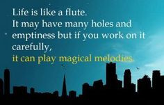 flute quote for Sarah More