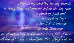 angel blessings and poems with beautiful images mary jac angel quotes ...