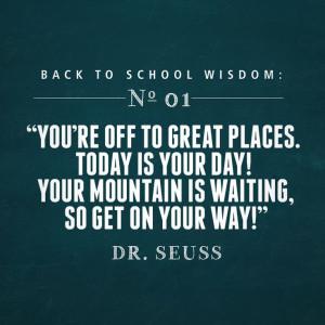 Back to School Quote | Back to School Wisdom