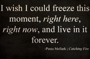 Film the hunger games quotes sayings freeze moment