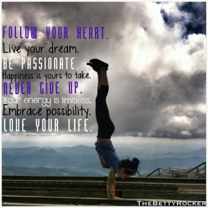 ... is limitless. Embrace possibility. LOVE YOUR LIFE #motivation #quote