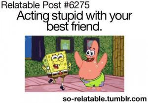 best friend, quotes, teen, text, texts, spongebob