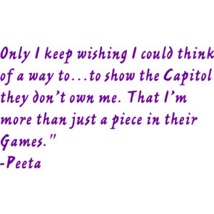 The Hunger Games Movie Quote