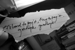 goodbye, lyrics, nickelback, paper, pen, photograph, quote, text