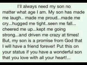 Dedicated To My Son and Sons Everywhere!