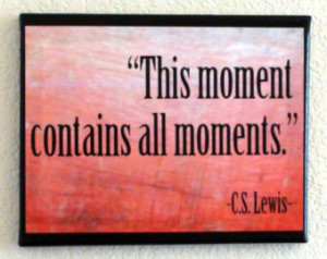 Art, C.S. Lewis Quote, Life Quote, Print on Canvas, 8x10 Canvas, Quote ...