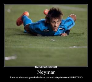 Carteles Neymar...