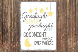 8x10 CANVAS Goodnight Moon children's book by SweetFaceDesign, $20.00