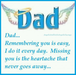sure miss you Dad. You are greatly missed. I miss hearing your voice ...