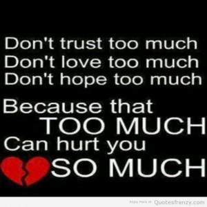 love trust hope Quotes