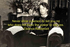Eleanor roosevelt best quotes sayings brainy wisdom