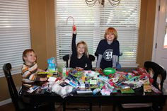 Great ideas for shoeboxes AND gifts for homeless folks! More