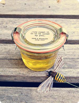 diy} honey bee party favors