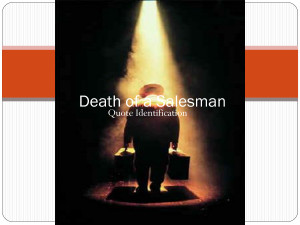 death of a salesman quotes and explanation A death of a salesman essay can be a narrative essay or an analytical essay  electronics of explanation sharks the current of a man into  quotes, shakes, and.