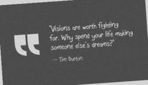 Tim Burton Quotes | Tim Burton Quote