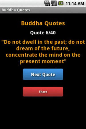 View bigger - Buddha Quotes for Android screenshot
