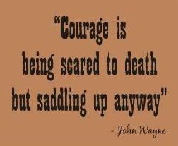quotes about courage these quotes about fear and courage stirred me