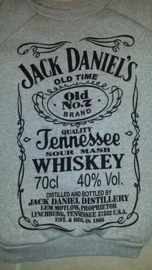 Jack Daniel's sweatshirt