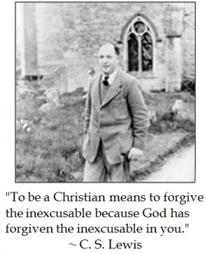 cs lewis on forgiveness # quotes