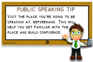 anxiety of public speaking