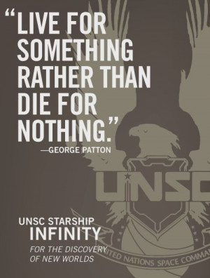 UNSC - George Patton Quote