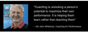 Coaching People to Higher Performance