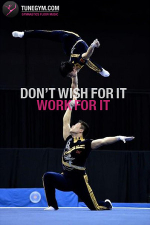Gymnastics Quotes Acrobatic gymnastics