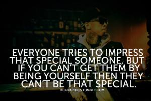Tyga quote.