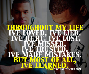 chris brown tumblr quotes