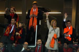 Jan Peter Balkenende Netherlands v Spain 2010 FIFA World Cup Final