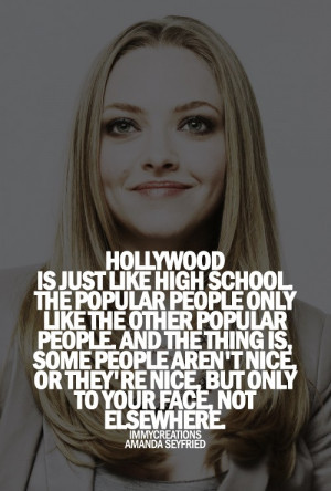 Amanda seyfried, quotes, sayings, hollywood, celebrity