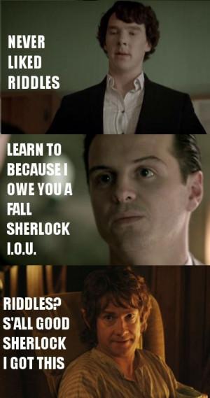 Sherlock and LOTR! :D
