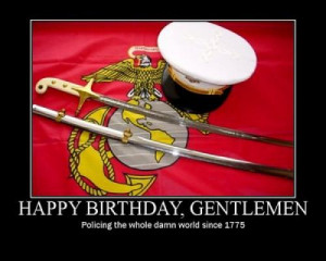 Happy 238th Birthday To The United States Marine Corps - Semper Fi
