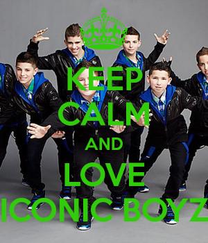 Iconic Boyz Keep Calm And...