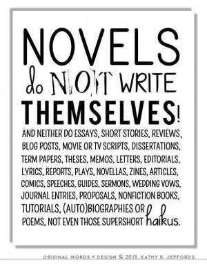 Writing Motivation - Writers Write