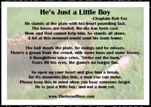 Monday Motivation: He's Just a Little Boy - The Joys of Boys