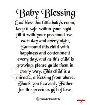 Newborn Baby Blessing Quotes Quotesgram