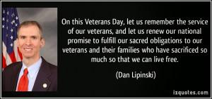 Veterans Day Quotes :