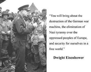 ... -Dwight-Eisenhower-D-Day-World-War-2-WWII-Quote-8-x-10-Photo-h1