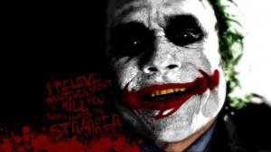 quotes the joker typography blood splatters smiling batman the dark ...