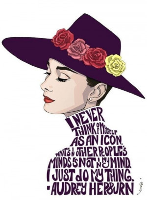 Great quotes sayings about yourself audrey hepburn