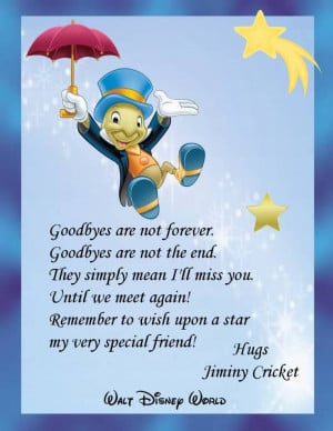 ... Sayings Goodbye, Best Friends, Disney Goodbye Quotes, Sayings Goodbye