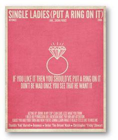 Single Ladies Beyonce Quotes Single ladies .