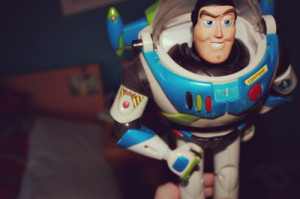 Buzz lightyear haha j looks like him lol
